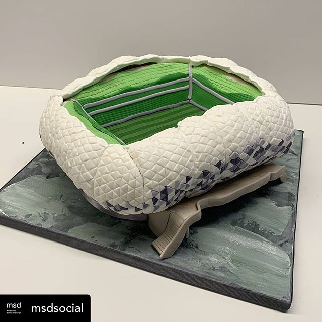 Posted @withrepost • @msdsocial (2/3) Batter, Bake, Build! Melbourne's Great Architectural Baking Competition is today in the Glyn Davis Melbourne School of Design Building. . . . Congratulations to all of our entrants on their amazing creations. Visit MSD today between 10-4pm to see the cakes on display, have your say in the People's Choice Award and find out who will take home the major prize. . . . Cakes 1-4 have been shortlisted for the final! 🥇.